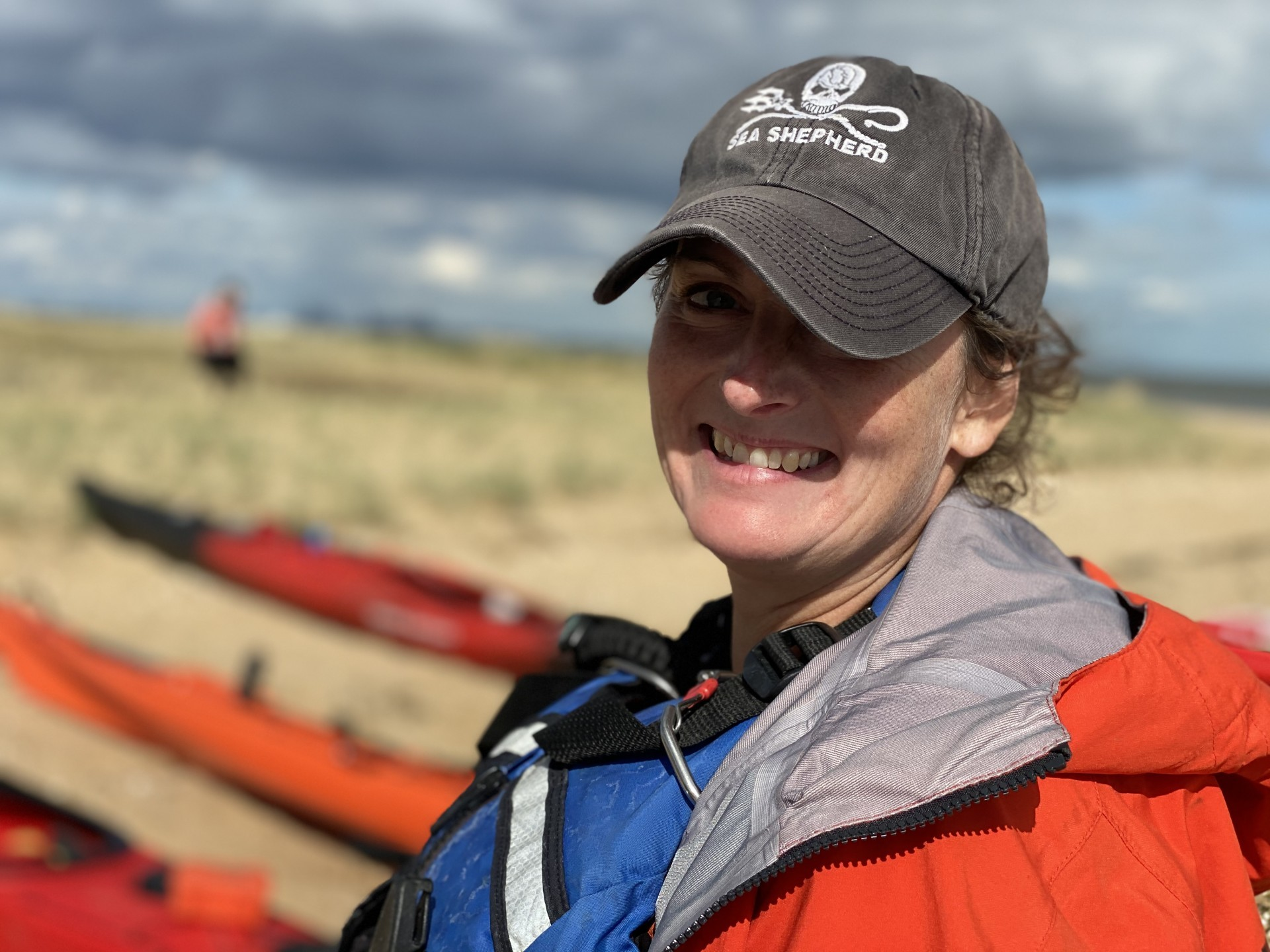 NOMAD Sea Kayaking guide Sea Shepherd.