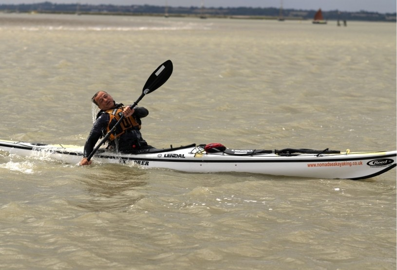A good deep water sea kayak roll is important.