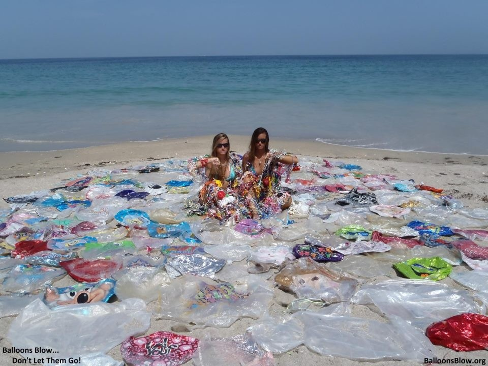 Balloons are a HUGE problem on our beaches