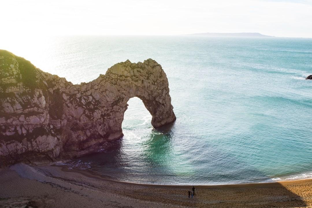 Dorset Jurassic coast guided wild camping kayaking trips