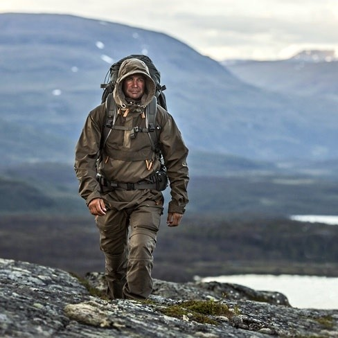 Robust and rugged and functional Fjallraven Keb clothing