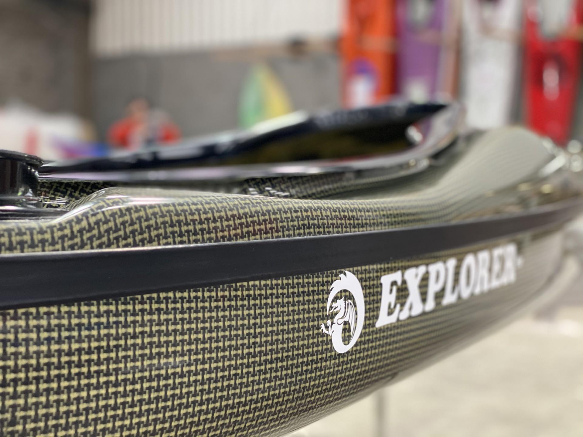 Explorer high volume carbon composite sea kayak.