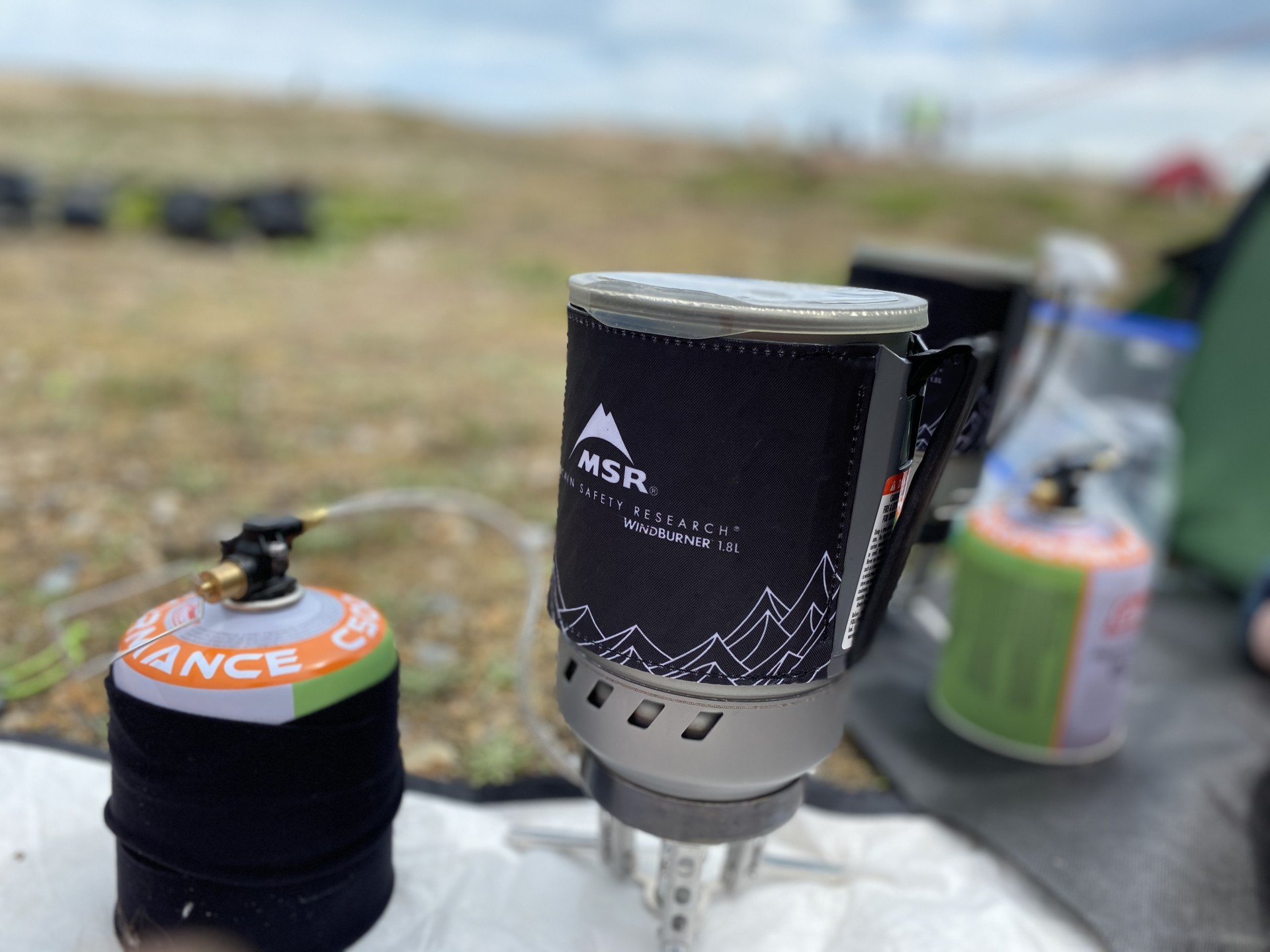 Csmp stoves at the ready for wild camping all inclusive groups