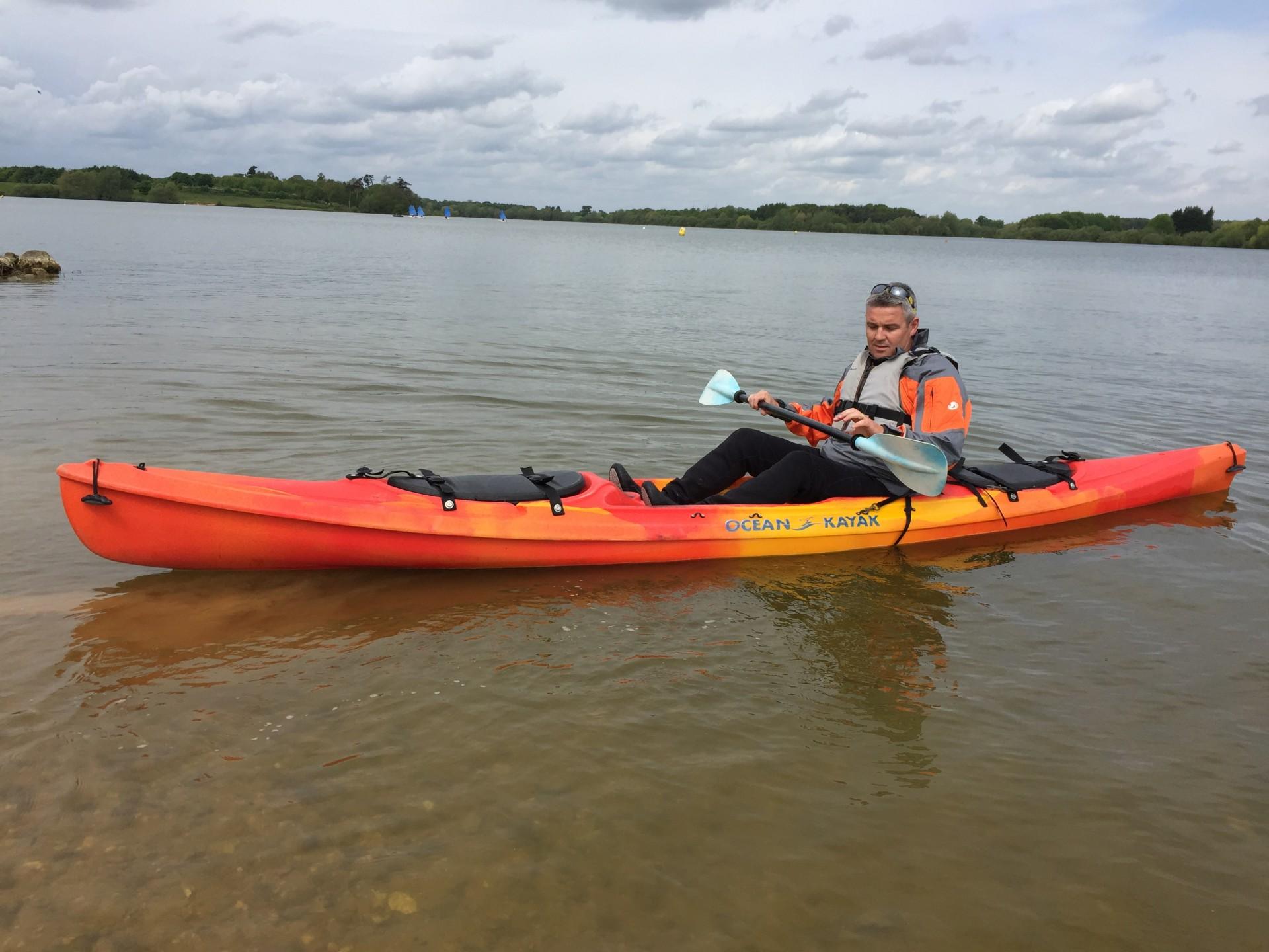 Ocean Kayak sit-on-top kayaks for day kayaking trips.