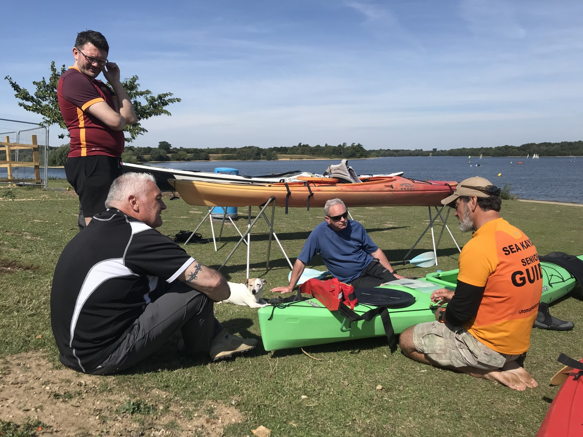 Introductory kayaking courses